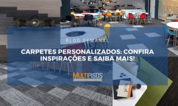 Carpetes personalizados: confira inspirações e saiba mais!