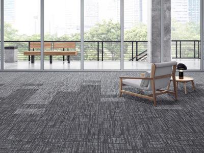 MULTIPISOS - Carpete Modular Belgotex 3 Tonos
